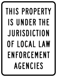 Jurisdiction / Law Enforcement