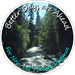 Nature Background (River / Stream) - Better Days are Ahead, For Now Let's Social Distance. Floor Decal (BUNDLE) - ON-2081