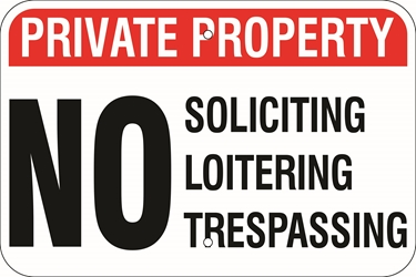 PRIVATE PROPERTY Sign - (Select Wording) (Screen-printed, 8+ Years Life) No hunting fishing trespassing,no hunting hiking trespassing,no skateboards bicycles dogs loitering,no soliciting loitering,trespassing, private property sign, metal private property sign, aluminum private property sign, polymetal private property sign, cheap private property sign, inexpensive private property sign, best private property sign, best value private property sign, good value private property sign, small private property sign, medium private property sign, large private property sign, screen-printed private property sign, long life private property sign, long lasting private property sign, quality private property sign, 12 18 24 30 inch private property sign, reflective private property sign