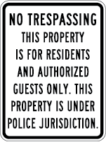 Residents and Authorized Guests Only